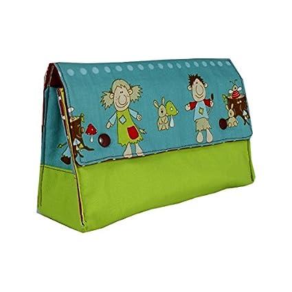 Mini piezas bolsa para pañales sucios prácticamente para llevar de viaje para almacenamiento para cubo de