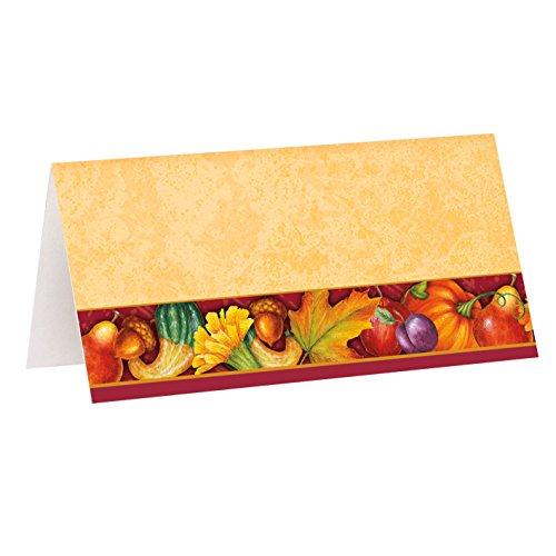 Festive Turkey Thanksgiving Place Cards, (Mardi Gras Table Arrangements)