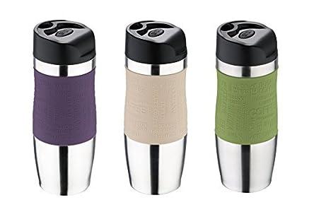 Pour Inoxydable En Café Bergner Plastique Mug Acier Et Isotherme kOTXuPiZ