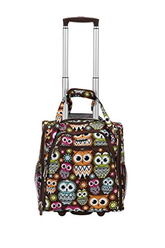 rockland-melrose-wheeled-underseat-carry-on-owl