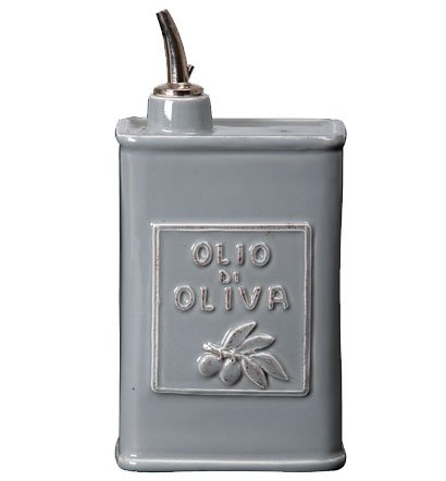 Lastra Olive Oil Can Color: Gray