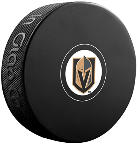 fan products of Sher-wood Autograph Logo Souvenir Hockey Puck - Vegas Golden Knights
