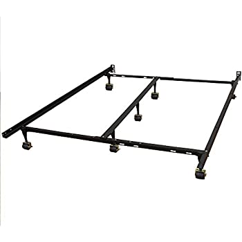 Amazon.com: Classic Brands Hercules Universal Heavy-Duty Metal Bed ...