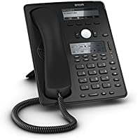 Snom SNO-D745 Sip Desk Phone with High-Resolution Display VoIP Phone and Device, Black