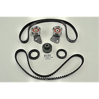 ITM Engine Components ITM299 Timing Belt Kit for 1985-1994 Subaru 1.8L H4 EA82/EA82T: Automotive