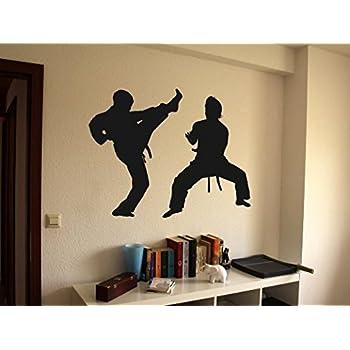 Karate Martial Arts Vinyl Wall Decal