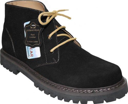 Lacets Homme Pour De Wear German À Chaussures Foncé Marron Ville wHXFf0q