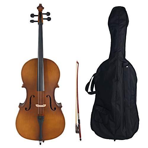 Acoustic Cello Wood Color
