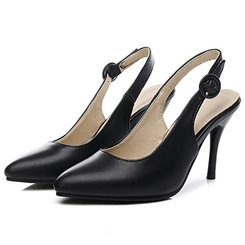 Coolcept Women Slingback Court Shoes Black CLCKHP8