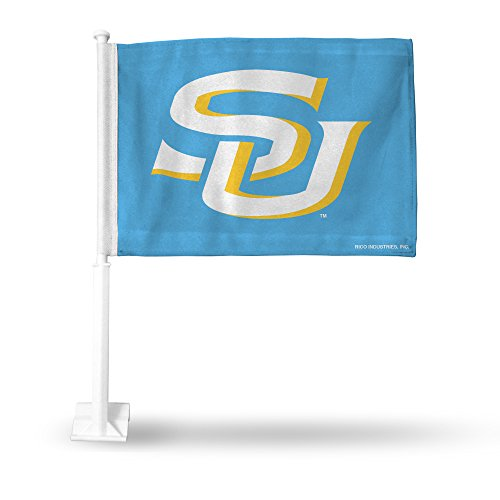 Royal Blue Car Flag - NCAA Southern University Royal Blue Car Flag Sports Fan Automotive Flags, Multicolor, One Size