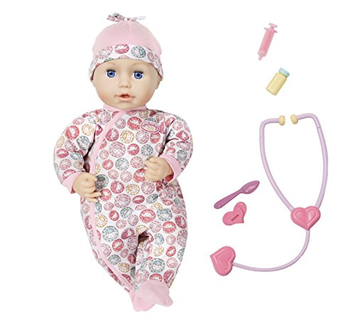 Zapf Puppe, Creation 701294  Baby Annabell Milly Feels Better Puppe, Zapf bunt 96f47a