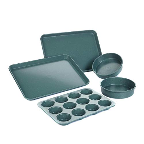 Curtis Stone Dura-Bake 5-piece Bakeware Set - Assorted Colors (Certified Refurbished)