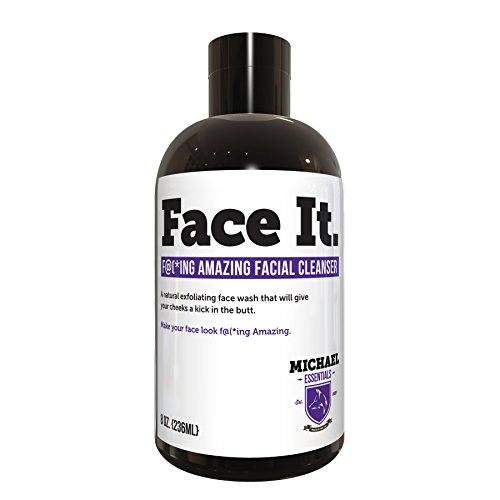 Michael Essentials Face It AHA Facial Cleanser, 8 Ounce Aha 8% Face