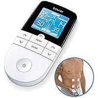 Beurer EM49 - Electroestimulador digital, para aliviar el dolor muscular y el fortalecimiento muscular, masaje, EMS…