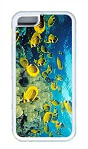 Beautiful Fish Ocean Thanksgiving Rubber(TPU) white Case for Masterpiece Limited Design iphone 4/4s iphone 4/4s by Cases & Mousepads
