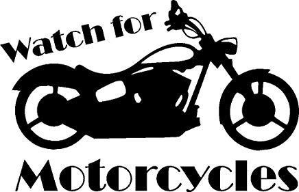 YWS Vinyl Stickers Decal - Watch Motorcycles Fading Logo - Stickers Laptop Car Truck Window Bumper Notebook SMA4909