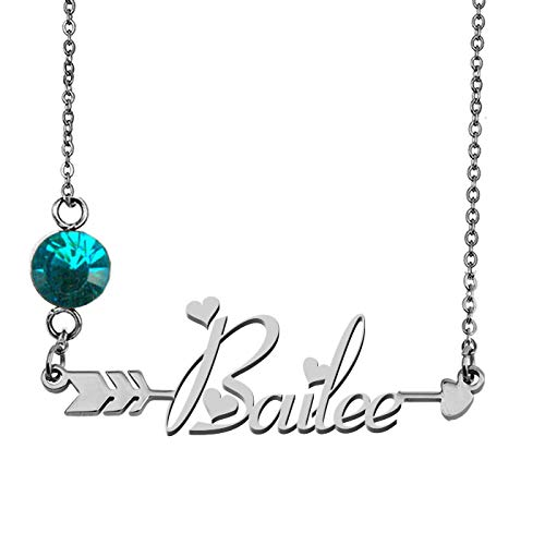 Any Name Necklace Bailee Personalized Graduation Gifts -
