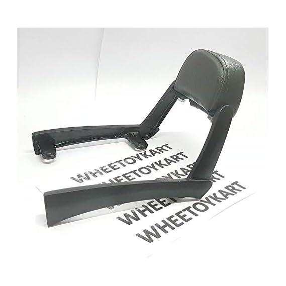 WHEETOYKART Backrest Comfortable Cushion for Royal Enfield Thunderbird 350x/ Thunderbird 500x, Back Rest Support Pillion