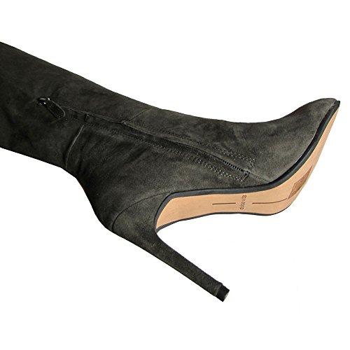 Dolce Vita Kvinners Inara Riding Boot Antrasitt