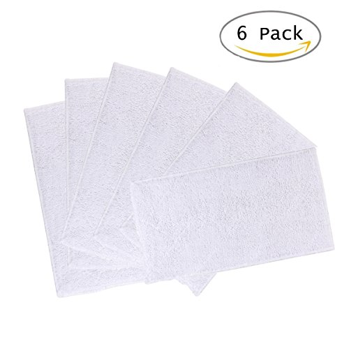 - Yoodelife Mop Cleaning Pads for Light 'n' Easy S3101, S7326, S3601, Replacement Steam Mop Pads Set of 6 Microfiber Washable Mop Pads with 3 Layers