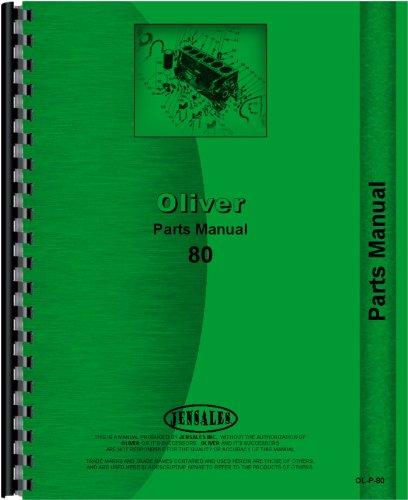 Cockshutt Tractor Parts Manual (OL-P-80)