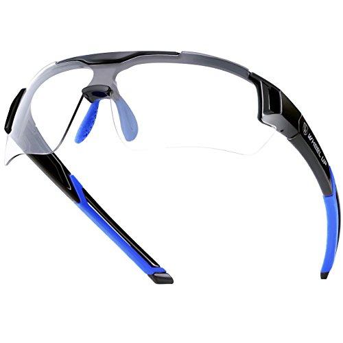 Cycling Glasses WHEEL UP Photochromic Anti-UV400 Explosion-proof PC Intelligence Lenses Aerodynamics MTB Sports Bike Sunglasses - Bike Eyewear