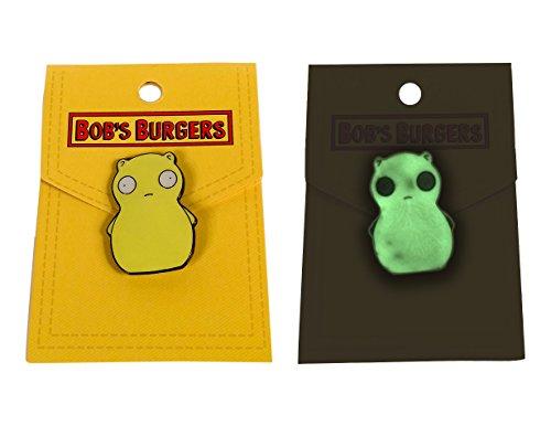 Ripple Junction Bob's Burgers Kuchi Kopi Glow Enamel Pin