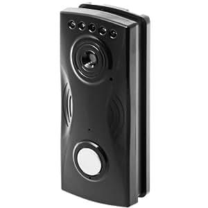 Alecto DVM-91 sistema de comunicación de puerta - Telefonillo (De plástico, Negro)
