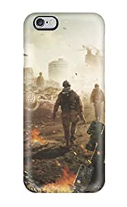 Sanp On Case Cover Protector For Iphone 6 Plus (battlefield Soldier)