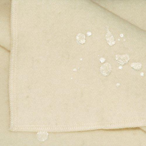 Lifekind Pure Wool Moisture Protector Organic Mattress Pad with Straps - Twin