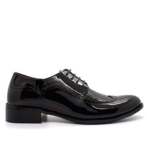 London Footwear ,  Herren Stiefel Schwarz