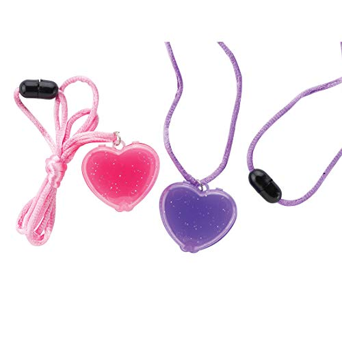 SmileMakers Heart Lipgloss Necklaces - Prizes 24 per Pack