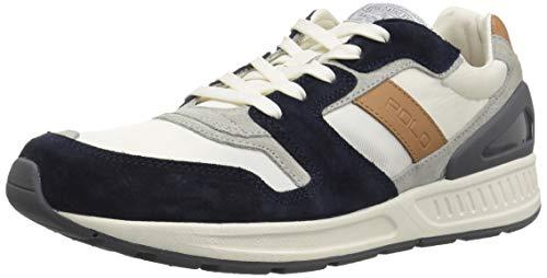 95db08f658c Polo Ralph Lauren Men s TRAIN100 CLS Sneaker Newport Navy 9 ...
