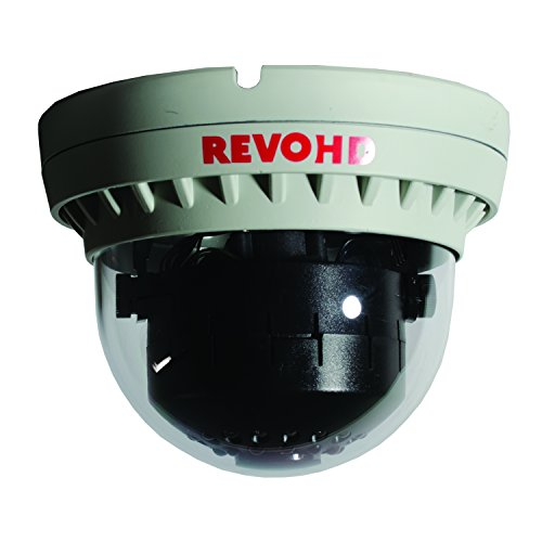 REVO America RCHDS30-2C HD IP 2.1 Megapixel Indoor Dome Surveillance Camera Grey