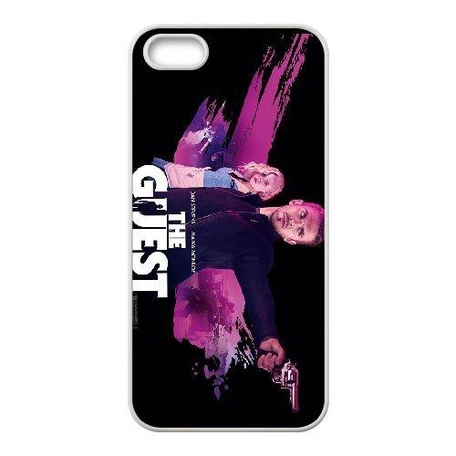 The Guest 2 coque iPhone 4 4S cellulaire cas coque de téléphone cas blanche couverture de téléphone portable EOKXLLNCD20055
