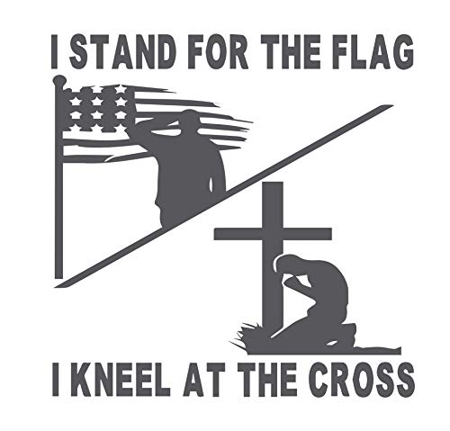 (I Stand for The Flag I Kneel at The Cross 6