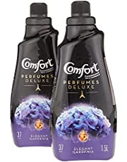 Comfort Perfumes Deluxe Concentrated Fabric Softener Elegant Gardenia, 1.5L (Pack of 2)