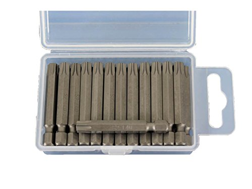(TEMO 25pc T40 Torx 2-Inch (50mm) Screwdriver Insert Bits)