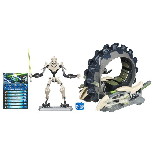 Star Wars Figure and Vehicle Grievous and Mini Wheel (Star Wars Mini Figures Game)