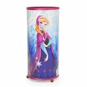 Amazon.com: Disney Frozen Elsa & Anna Cylinder Glitter Lamp Night ...