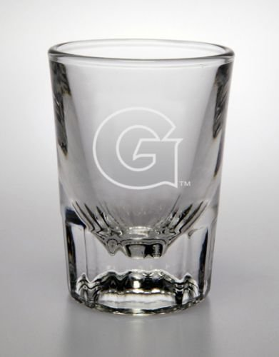 Georgetown Hoyas 2 Oz Deep Etched Classic Shot - Glasses Georgetown