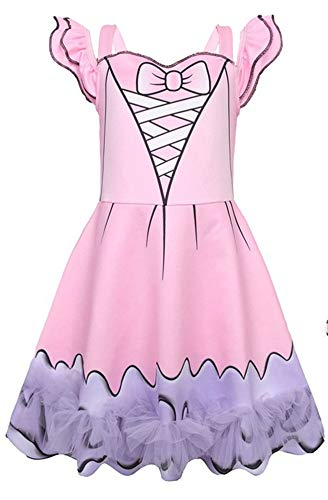 FSBBUT Little Girl's Doll Surprised Dress Princess Halloween Party Cosplay Costume for $<!--$8.88-->