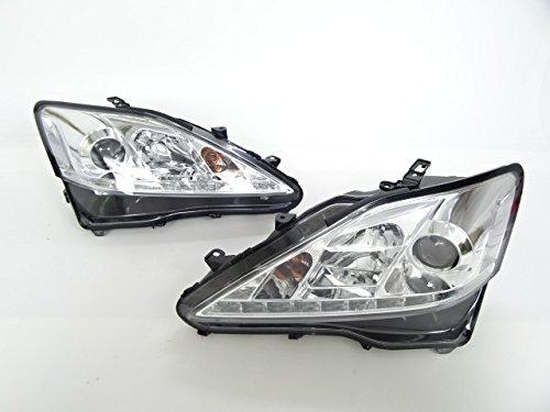 レクサス IS  LEDポジション プロジェクターヘッドライト ヘッドランプ メッキ 後期ルック IS250 IS350 前期 06-10y B078N2K87V