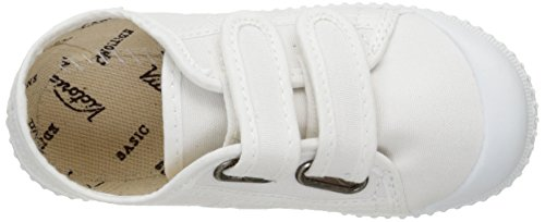 Bambini Lona Velcros Victoria Unisex 20 Basket Dos Bianco Bianco Sneaker 5pxqFYw