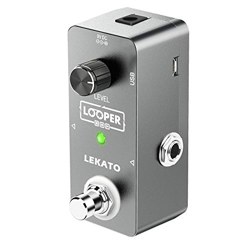 LEKATO Electric Guitar Looper Effect Pedal Loop Pedal True Bypass