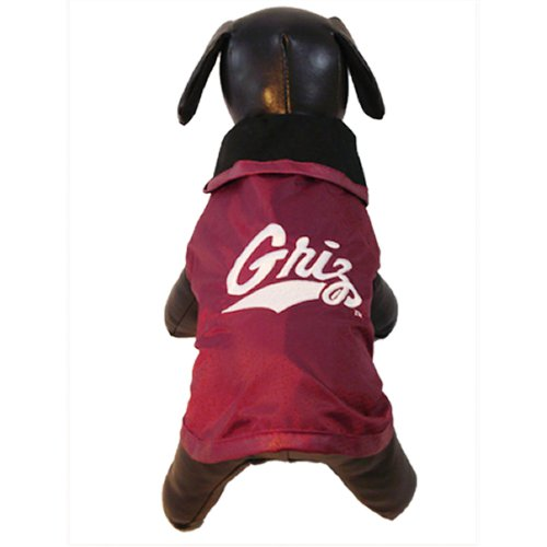 NCAA Montana Grizzlies All Weather Resistant Protective Dog Outerwear, X-Large