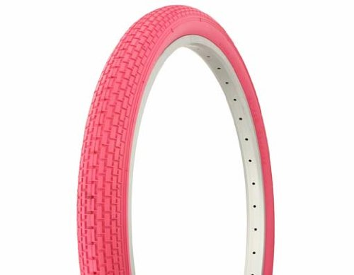Tire Duro 26  X 2 125  Pink Pink Side Wall Hf 120A  Bicycle Tire  Bike Tire  Beach Cruiser Bike Tire  Cruiser Bike Tire  Chopper Bike Tire  Trike Tire  Tricycle Tire