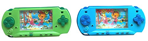 Handheld Gamer Water Game and Maze Pocket Travel Games (Pack of 2)