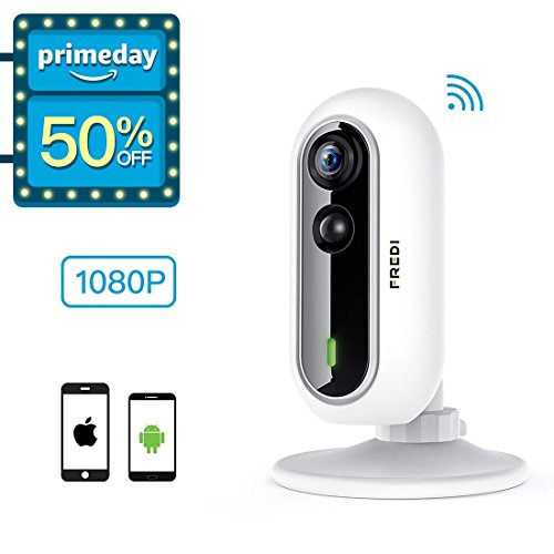FREDI Wireless Security 1080P HD Camera WiFi IP Indoor Surv