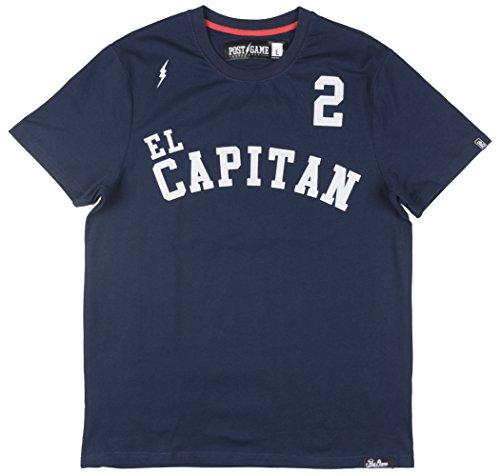 Post Game EL Capitan Mens SS Baseball T-Shirt In Navy